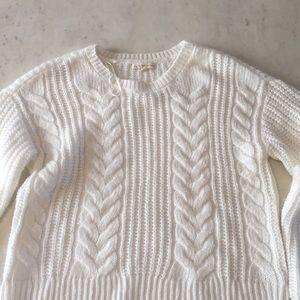 Soft White Sweater